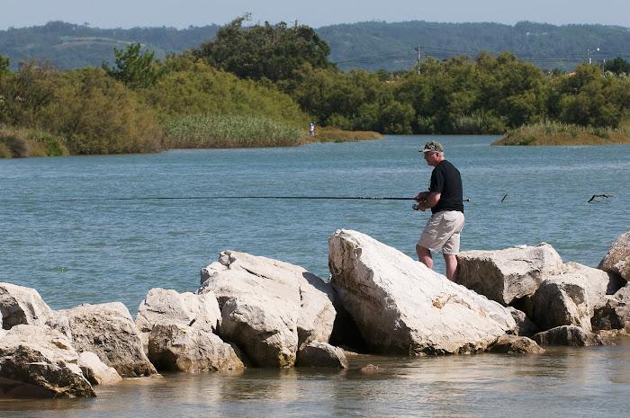 fishing at the lagoon