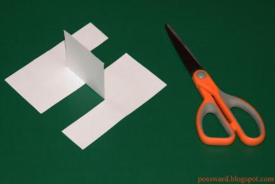головоломка из бумаги2