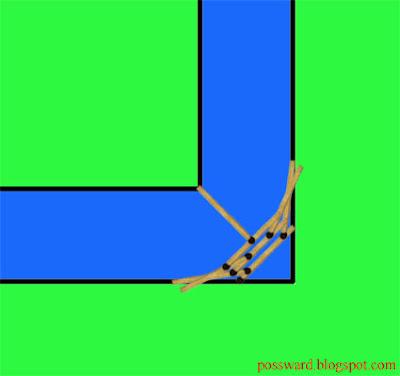 Ответ на головоломку о мосте из 8 спичек