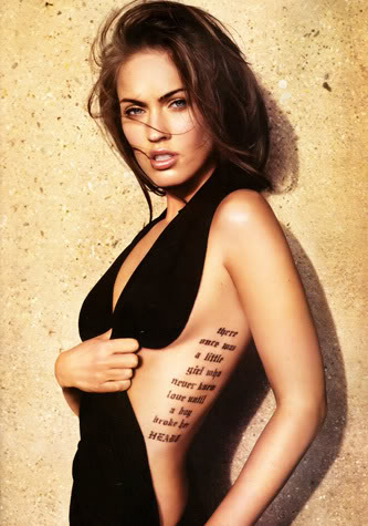 I know that I have already done a Megan Fox post on the Wednesday edition of