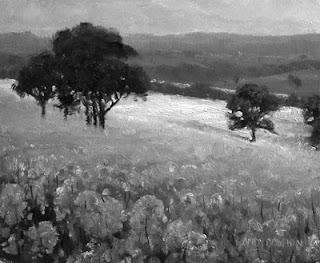 tonal painting in oil australian landscape step by step andy dolphin