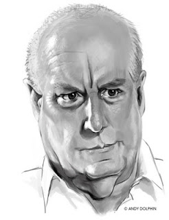 alf stewart Ray Meagher sketch