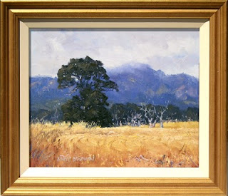 australian landscape oil painting framed