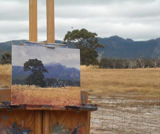 plein air australian landscape painting
