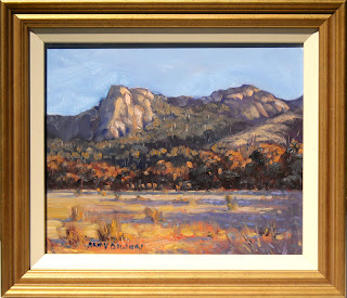 plein air porongurup landscape painting