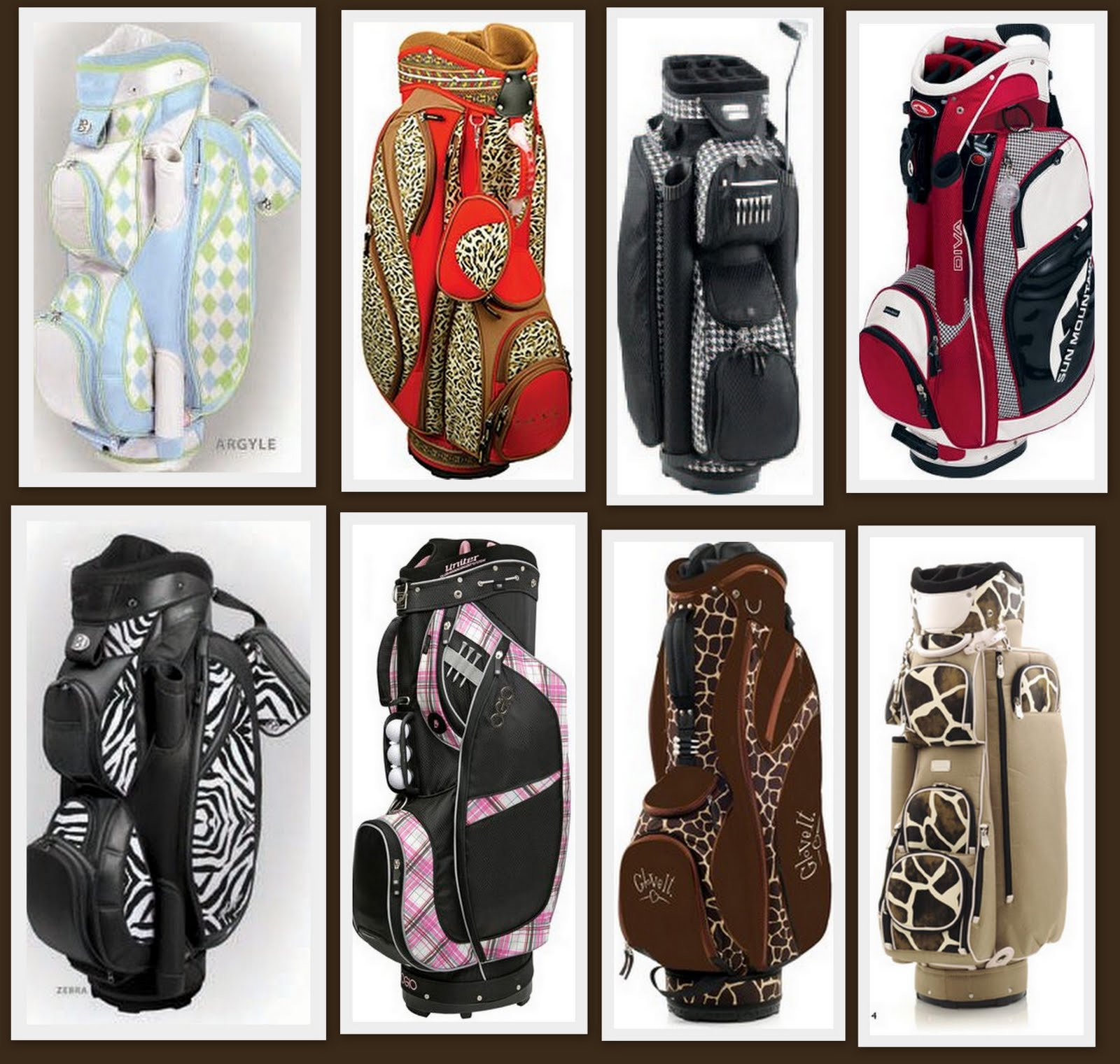 Designer Golf Bags for the Divas 0ef256a1f09