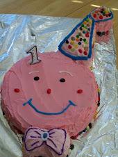Sydney's 1st Birthday Cake