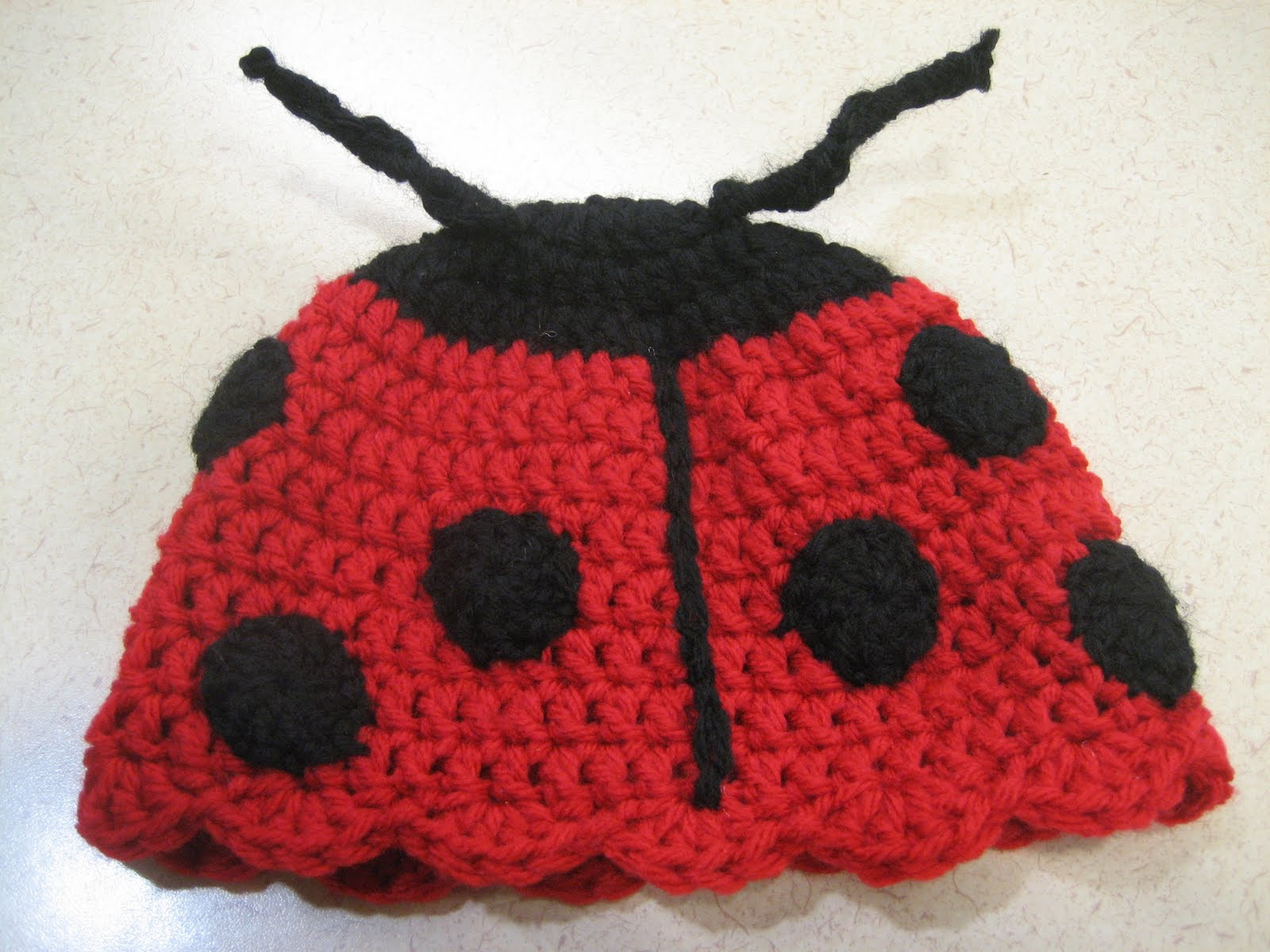 Cats-Rockin-Crochet Fibre Artist.: Crochet Ladybug, Beret and