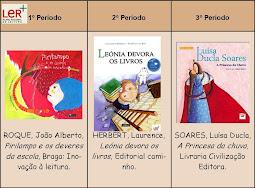 Livros PNL - 2º ano, Ano Lectivo 2010/2011
