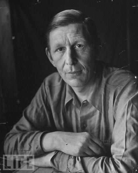 """w h auden as i walked I first read w h auden's poetry at sixteen  my love"""" or """"as i walked out one evening,"""" i was genuinely enchanted back then,."""