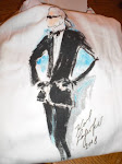 Saks Fifth Avenue Key to the Cure Karl Lagerfeld Tee