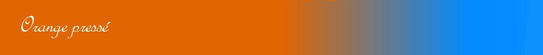 Orange pressé