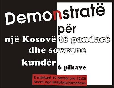 Demonstrata Demonstrat Prishtine
