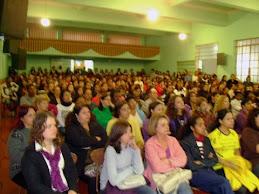 Público da palestra do Prof. Rossano em Manhumirim/MG