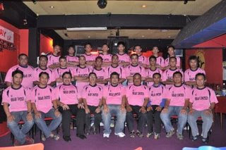 SHAH UNITED OFFICIALS,STAFFS AND PLAYERS