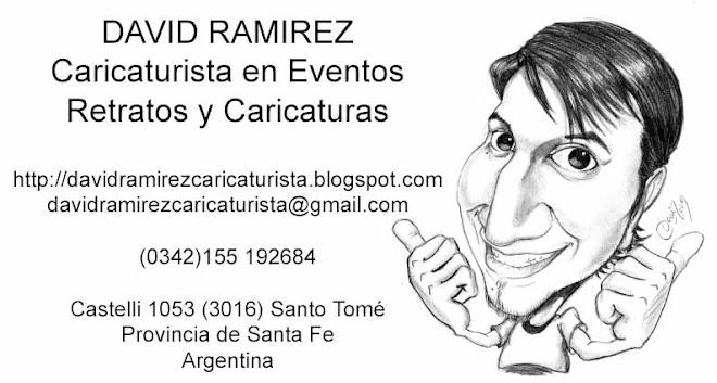 David Ramirez: Caricaturista