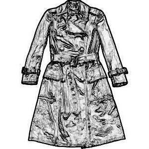 [Silver+Coated+Cotton+Classic+Trench+(just+a+sketch)]