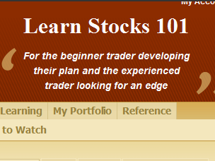 Learn to trade stocks with technical analysis at learnstocks101