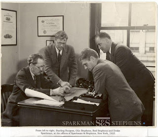 Sparkman, Stephens, Gerschlemmermann and Wojnihorowicz. You can see why the other two aren't on the letterhead.