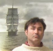 Me and Wanderer. NBWM has a topmast. Part of the main is in front of the Kinsale in Mattapoisett. I have a neat picture.
