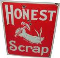 Honest Scrap Blog Award