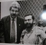 Con Pascual Maragall