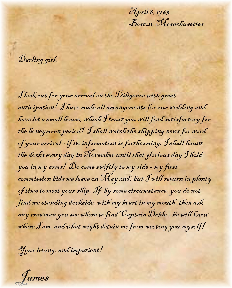 Friendship letter to her