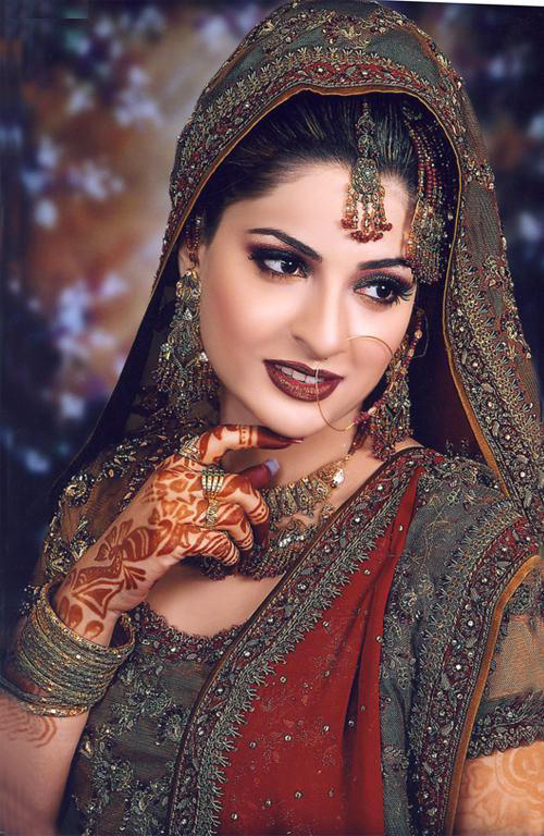 latest pakistani bridal 39s dressesjewelery and make up