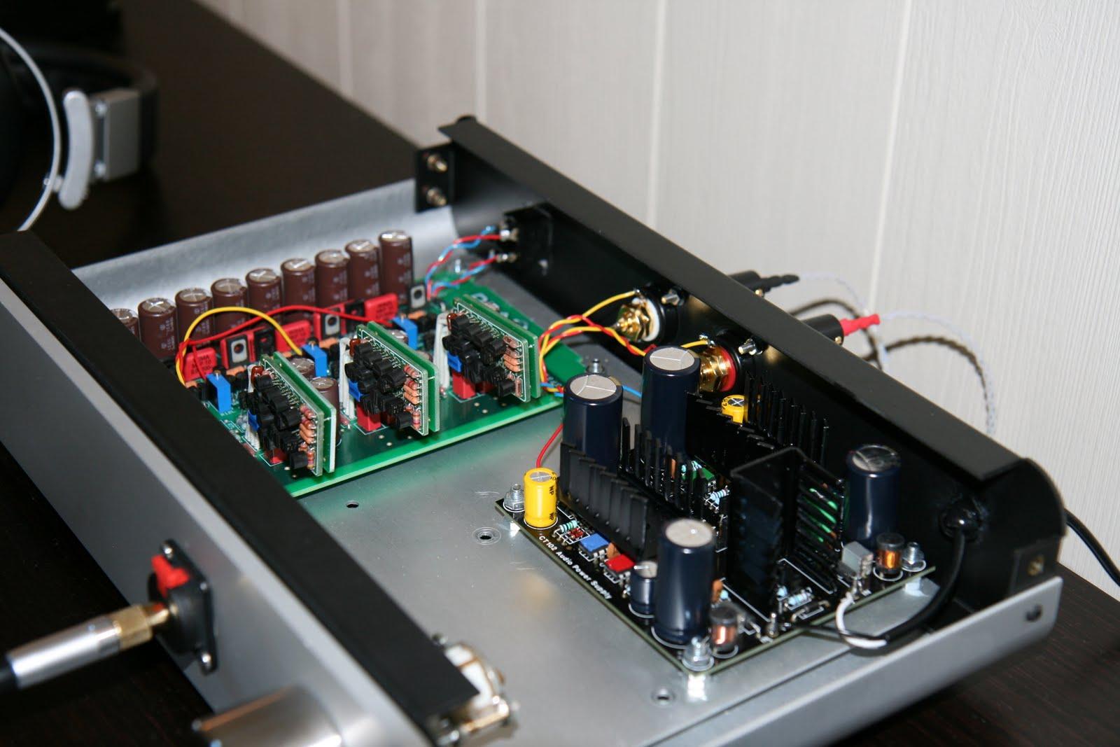 Hi End Diy Headphone Amp With Burson Hd Audio Opamp Head Phone Amplifier Circuit