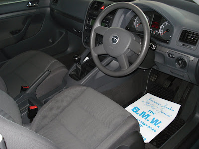 interior Volkswagen Golf 1.6