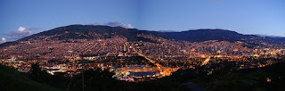 foto panoramica de Medellin