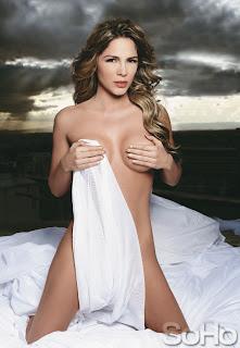 Modelo y presentadora Mabel Cartagena en Soho