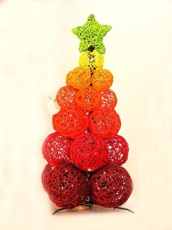 Arbolito de navidad esferas - Como se adorna un arbol de navidad ...