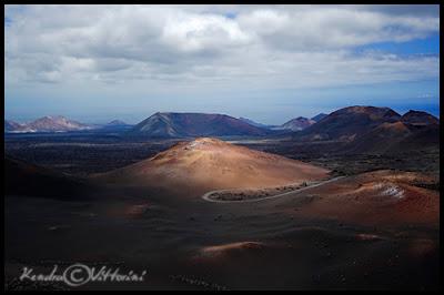 Panorama del Timanfaya
