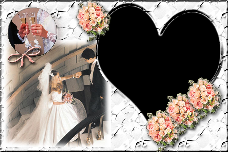 Arte y amor: Un nuevo marco Photoshop para bodas