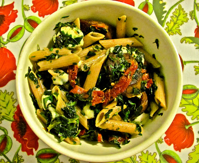 ... too much...: Pasta night: Sun-dried Tomato, Spinach, and Sausage Pasta