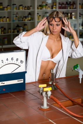 scientists sexy