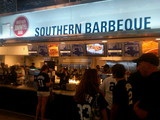 Q haven bbq blog yankee stadium visit for Asian cuisine mohegan lake ny
