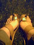 mis pies son como de cartón...