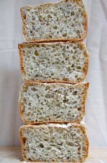 pane veloce veloce con i semi di papavero