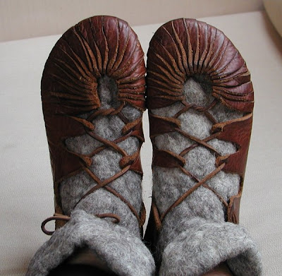 HOWTO make Viking shoes