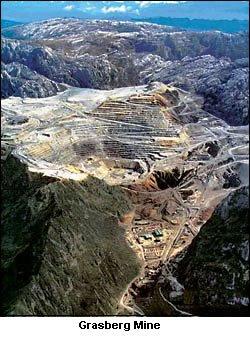 Amerika Cari Emas Di Pegunungan Papua