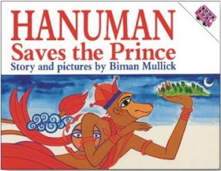 Hanuman Saves the Prince