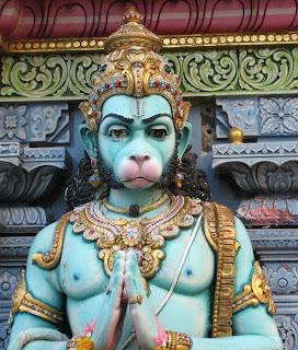 Mournful Hanuman