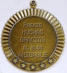 "Gracias, Meggan por este ""premio"""