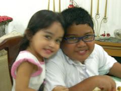 Amin and Sarah