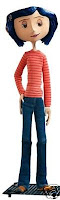Coraline in Casual Clothes Doll