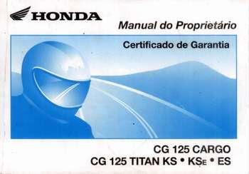 Download  Manual de Serviço da Honda Titan Neste Manual vc aprende a fazer toda a manutenção da sua Honda Titan.