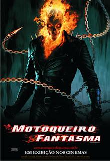 Motoqueiro Fantasma Johnny Blaze (Nicolas Cage) trabalha como dublê e piloto de motocicleta. Há muito tempo ele fez um pacto com Mefisto (Peter Fonda) para proteger as duas pessoas que mais amava: seu pai, Barton (Brett Cullen),