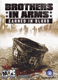 Brothers in Arms: Earned in Blood A Segunda Guerra Mundial é, disparada, o evento bélico preferido entre as produtoras de games.